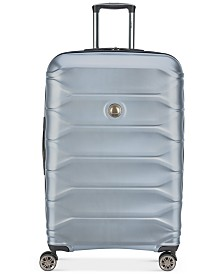 """CLOSEOUT! Delsey Meteor 28"""" Silver Spinner Suitcase, Created for Macy's"""
