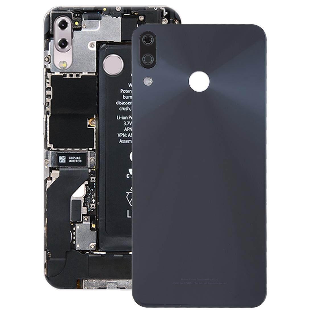 Back Cover with Camera Lens for Asus Zenfone 5 / ZE620KL(Navy Blue)