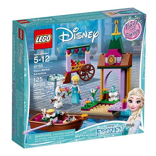 LEGO 樂高 迪士尼公主系列 - LT41155 艾莎的市集探險