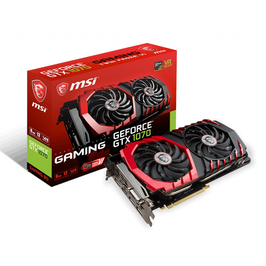 MSI 微星 GeForce GTX 1070 GAMING 8G顯示卡