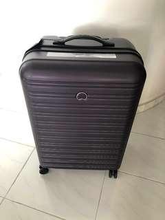 Delsey Segur luggage purple