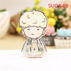 BTS Bangtan Boys SUGA Case 360 Degree Rotation Phone Ring Finger Buckle Stand Holder Cell Mobile Phone Stand Accessories Rings ZHK - intl