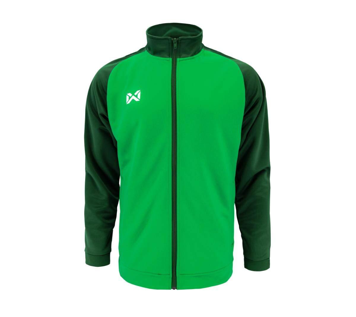Warrix เสื้อวอร์ม  WA-1715-เขียว-เขียวเข้ม (GG)