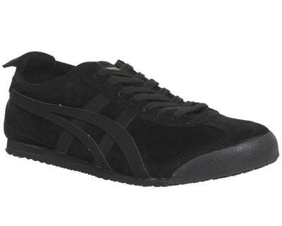 Onitsuka Tiger Mexico 66 Trainers Black Black