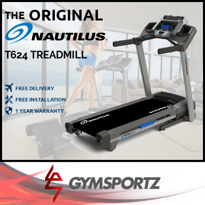 ★ NAUTILUS ★ FOLDABLE TREADMILL ★ HOME USE ★ USA BRAND ★ SINGAPORE EXCLUSIVE DISTRIBUTOR ★