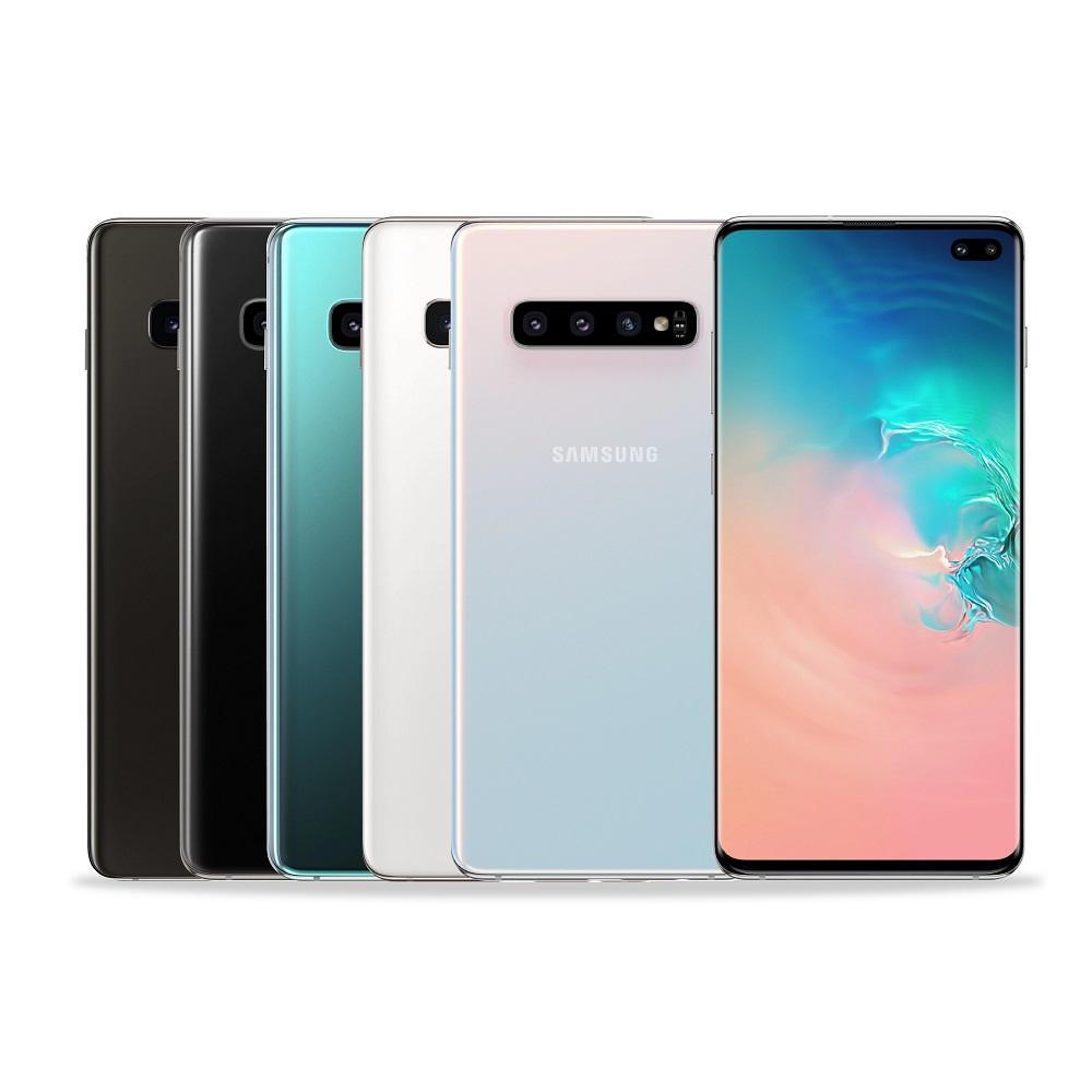 Samsung Galaxy S10+ 8G/128G 6.4吋八核雙卡智慧手機加碼送10吋空調循環扇(數量有限送完為止),活動期間登錄送無線閃充行動電源