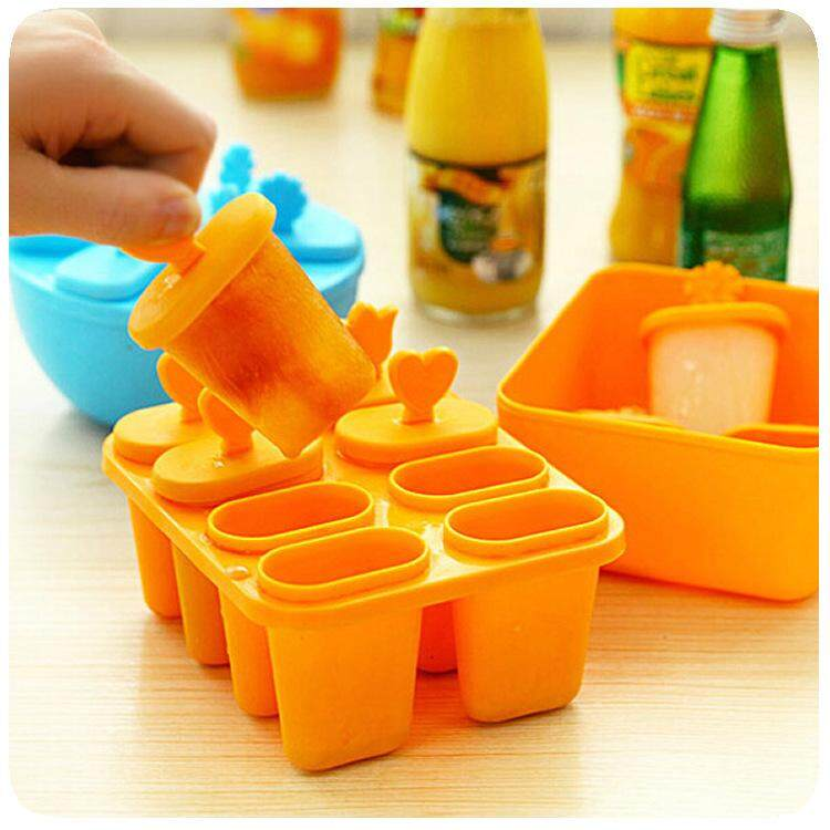Creativity Ice Cream Tubs DIY Ice Cream Tools Kitchen Frozen Ice Cube Molds Popsicle Maker Cooking Tools For Making Ice Cream