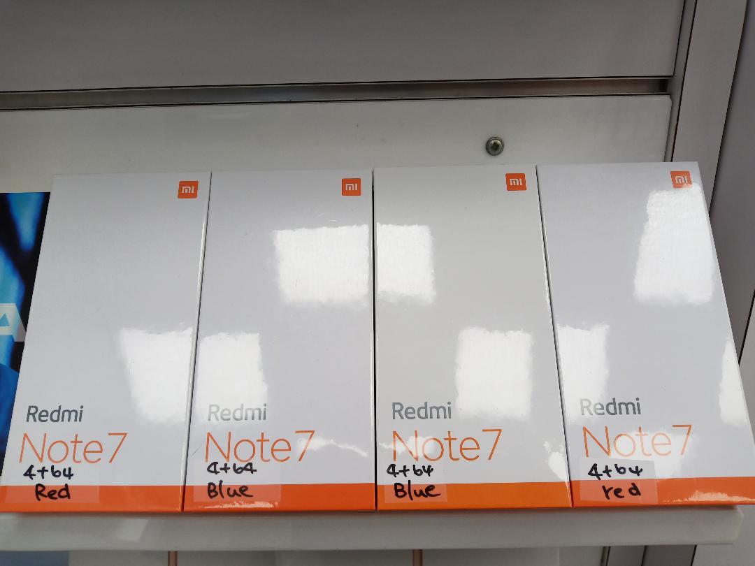 紅米 Note 7 (4GB+64GB)(現貨搶購中)台灣神腦公司貨全省售後服務=獨家送三星藍芽手握拍=免運費