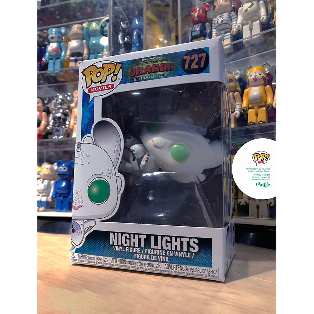 ArtLife @ FUNKO POP VINYL Dragon 3 Night Lights 馴龍高手 光煞 寶寶
