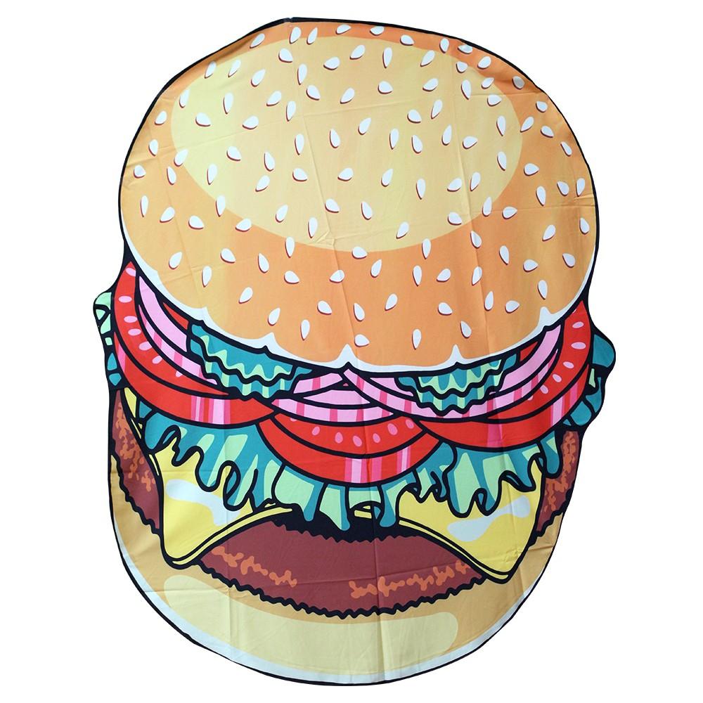 食物沙灘巾 歐美流行 食物野餐墊 沙灘巾 浴巾 多用途 四款可挑【S008】