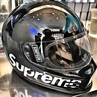 潮流Supreme17FW coleman ct200u mini bike安全帽
