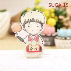 BTS SUGA Bangtan Boys Case 360 Degree Rotation Phone Ring Finger Buckle Stand Holder Cell Mobile Phone Stand Accessories Rings ZHK
