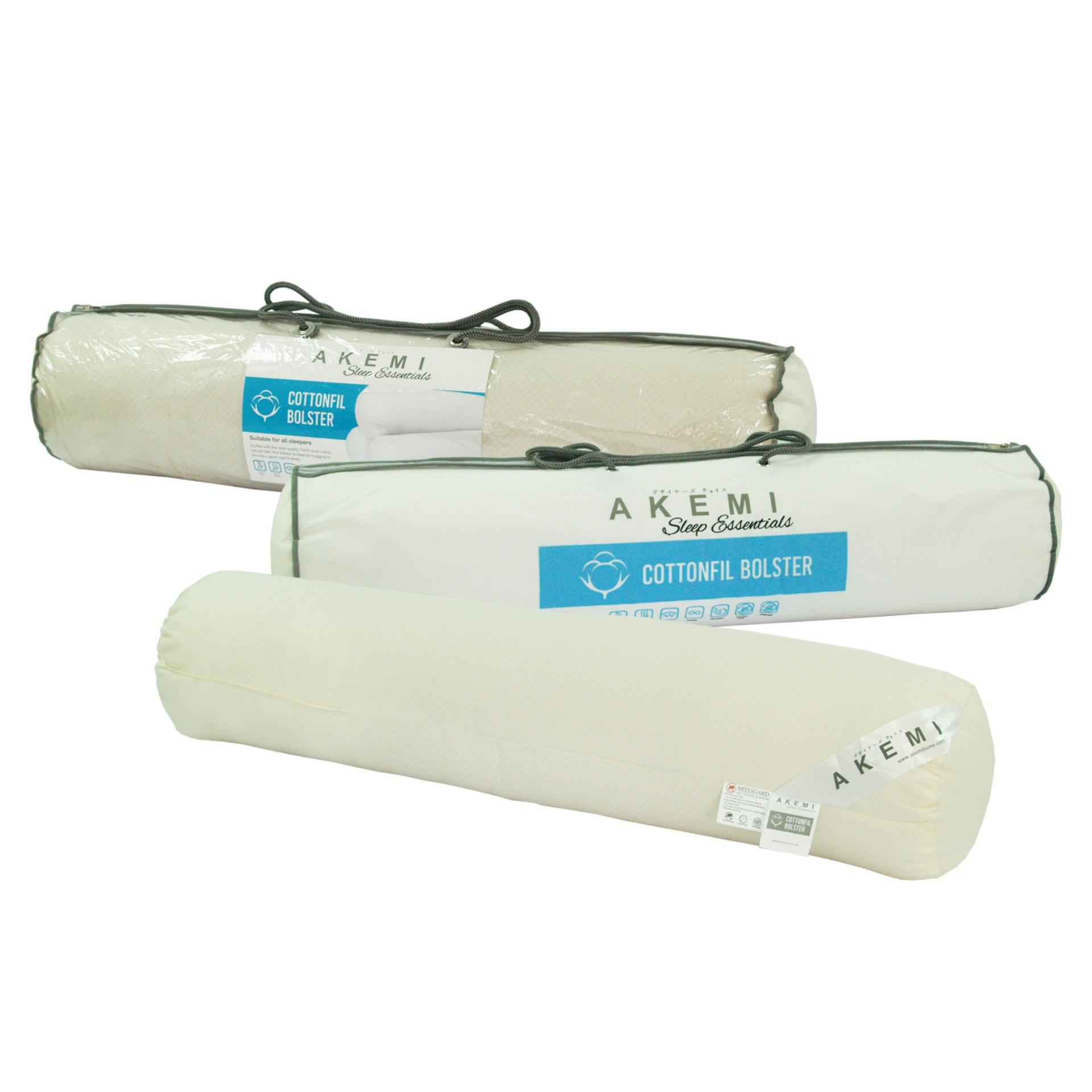 AKEMI Sleep Essentials Cottonfil Bolster