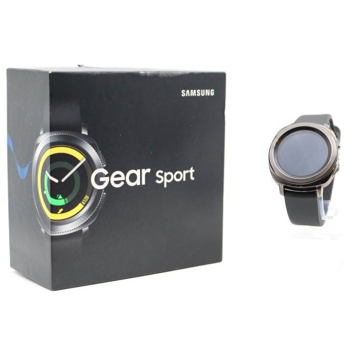 【高雄青蘋果3C】Samsung Gear Sport SM-R600 黑 智慧型手錶#38418