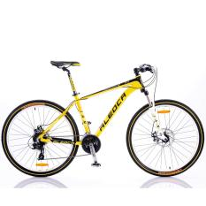 "Aleoca 27.5"" Tiranno Locale Aluminium Mountain Bicycle  (Black/Yellow)"