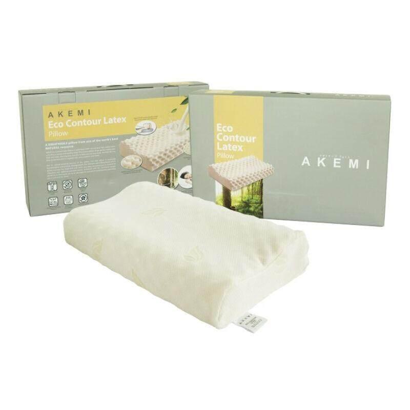 Akemi หมอนหนุนยางพารา Eco Contour Latex