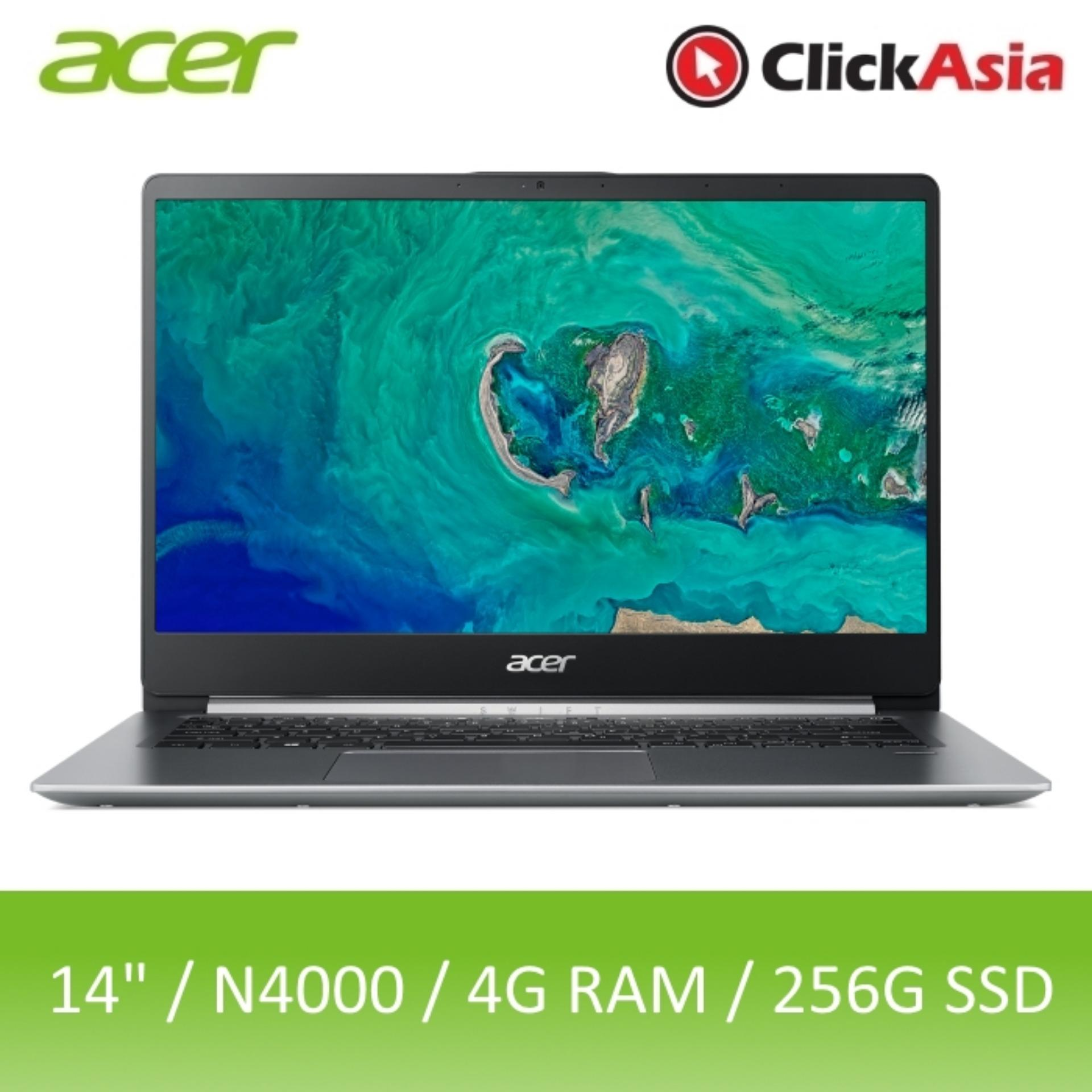 Acer Swift 1 (SF114-32-C3RB) 14-Inch IPS Narrow Border Thin and Light Laptop (Silver)