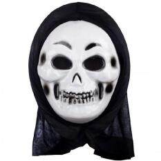 Halloween PROP Skull หน้ากากธีม Centipede Skull Face (สีขาว)