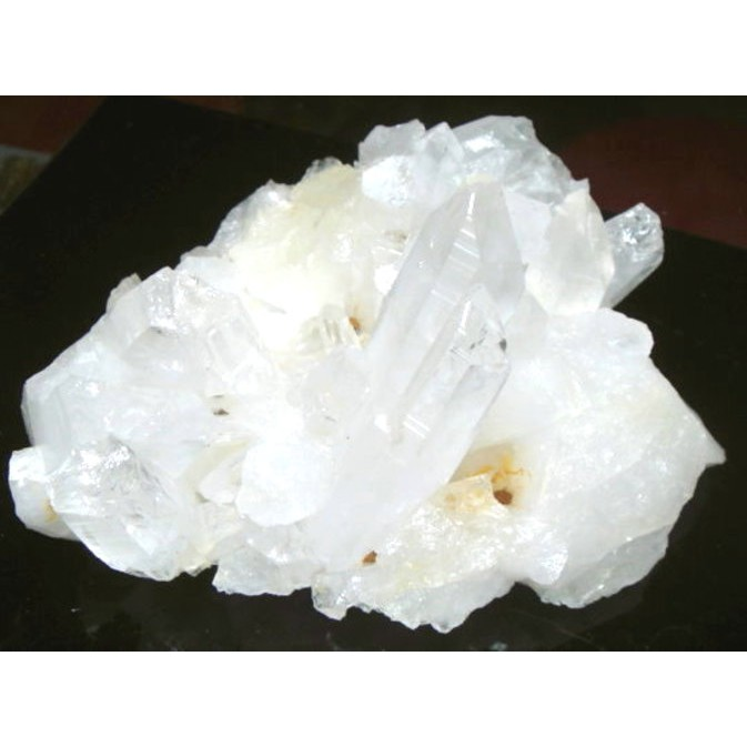 『晶鑽水晶』天然白水晶簇*超白亮透~淨化水晶佳選~防小人必備