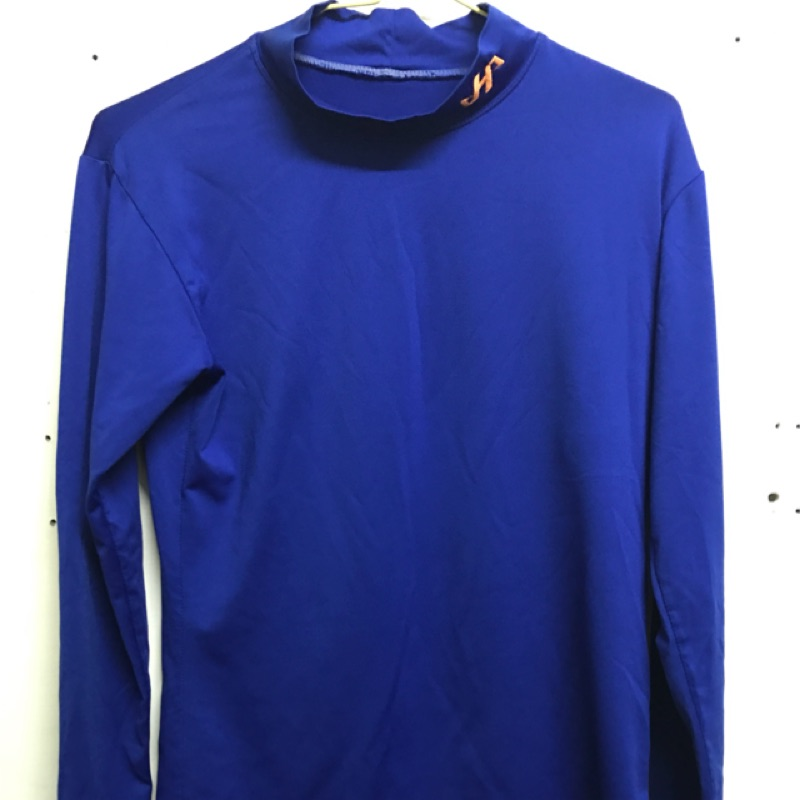 Hatakeyama 運動緊身衣 藍色 短袖 二手