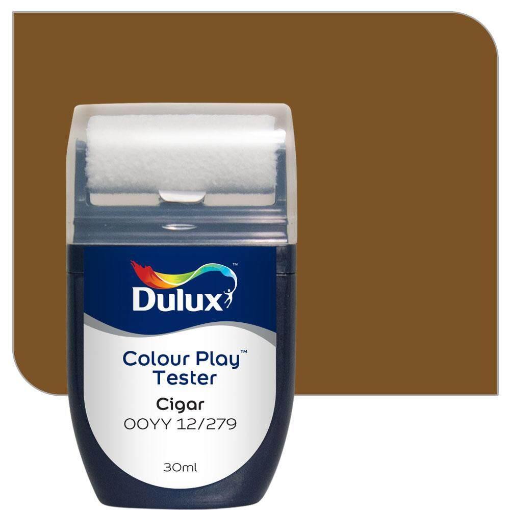 สีขนาดทดลอง Dulux Colour Play™ Tester - Cigar 00YY 12/279