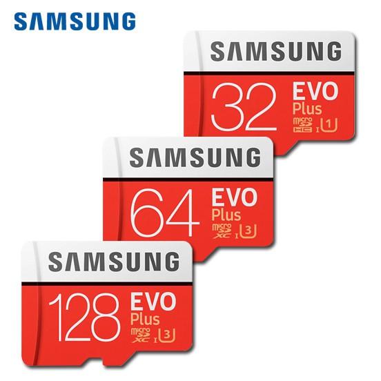 三星 SAMSUNG EVO Plus 32G 64G 128G microSD UHS-I 高速記憶卡 代理商公司貨