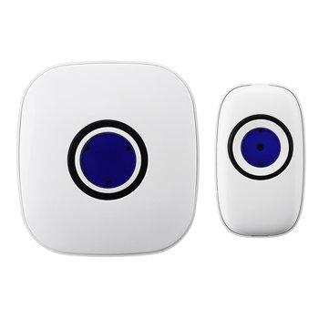 Wireless Chime Door Bell Waterproof 150M Range Doorbell 38 Ringtones Music Doorbell US Plug