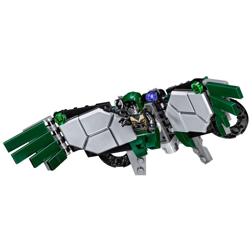 樂高LEGO積木玩具超級英雄蜘蛛俠反派人仔殺肉禿鷹 76083獨有