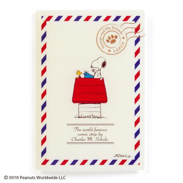 【JP團GO】18090300018 收納夾書套B6-SN明信片ADG 史努比 snoopy 年曆本收納套 手帳收納