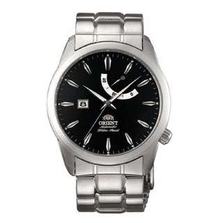Brand New Orient Automatic Date Analog 100% Authentic Black Dial Male Casual Watch CFD0E001B FD0E001B w/ Warranty