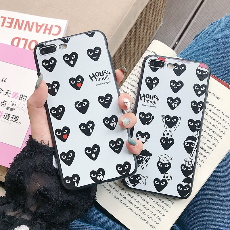 VIVO Y67 Y66 Y71 Y75 V7 V9 Y81 Y85 X21 Y91i Y97 V5 Lite case heart soft cover