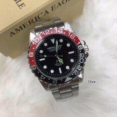 """AMERICA EAGLE """"AE063"""" นาฬิกาแฟชั่น,ใบรับประกันสินค้าจากศูนย์,พร้อมกล่อง"""