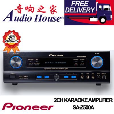 PIONEER SA-Z500A 2CH KARAOKE AMPLIFIER 1 YEAR PIONEER WARRANTY