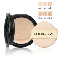GIORGIO ARMANI 訂製雪紡亮白精華氣墊粉餅(蕊)15g 多色可選