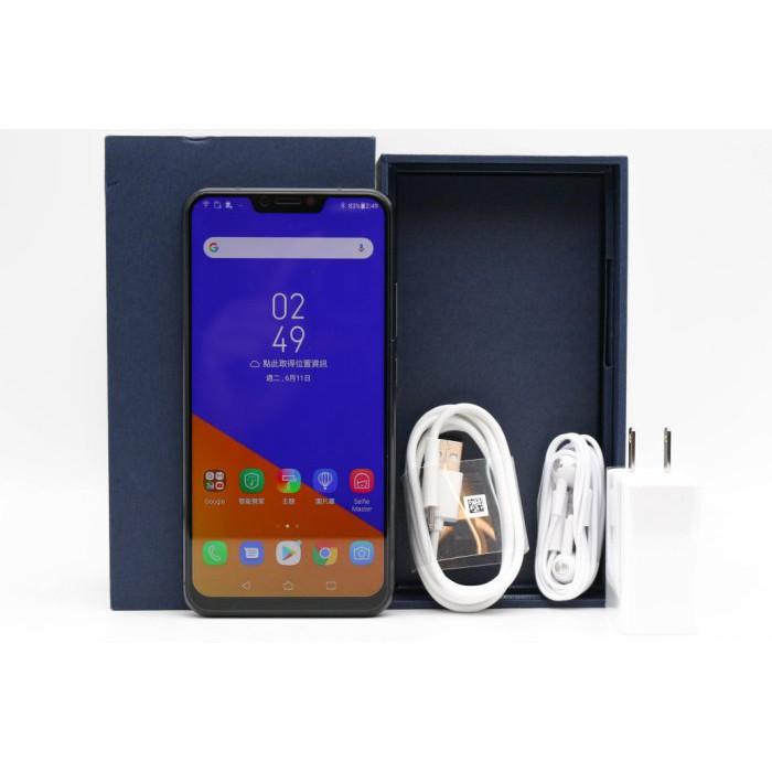 【高雄青蘋果】ASUS Zenfone 5Z ZS620KL 深海藍 8+256G 256GB 二手手機 #38917