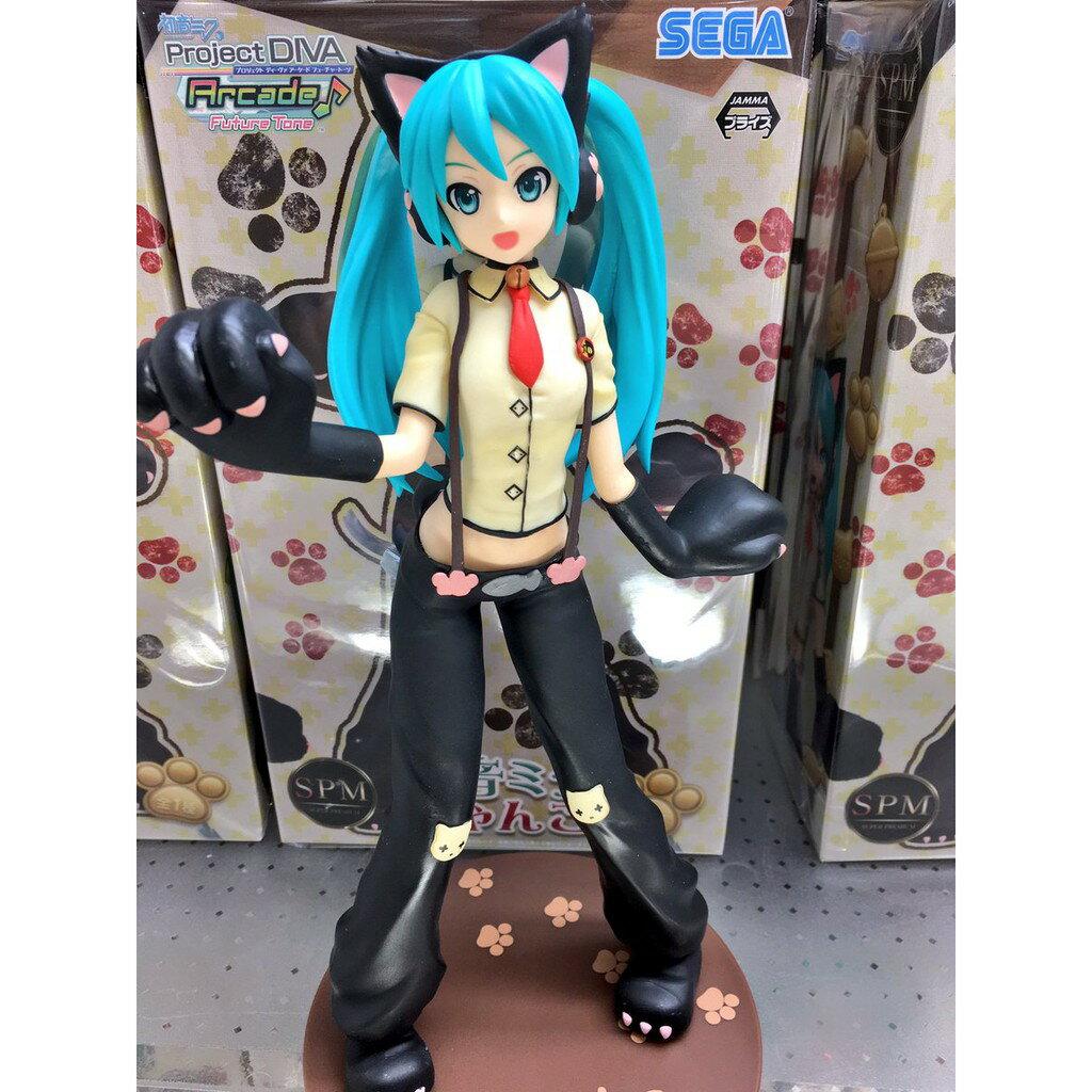【預購】日本代購日版 初音未來 初音 MIKU 正版公仔 SPM 初音 貓的風格【星野日本玩具】