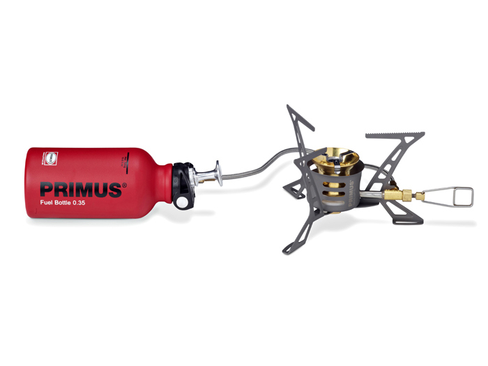 【露營趣】送卡式轉接頭 瑞典 Primus 321985 OmniLite™ Ti 鈦合金瓦斯汽化遠征爐 汽化爐 蜘蛛爐 飛碟爐 瓦斯、去漬油、煤油、柴油 可用