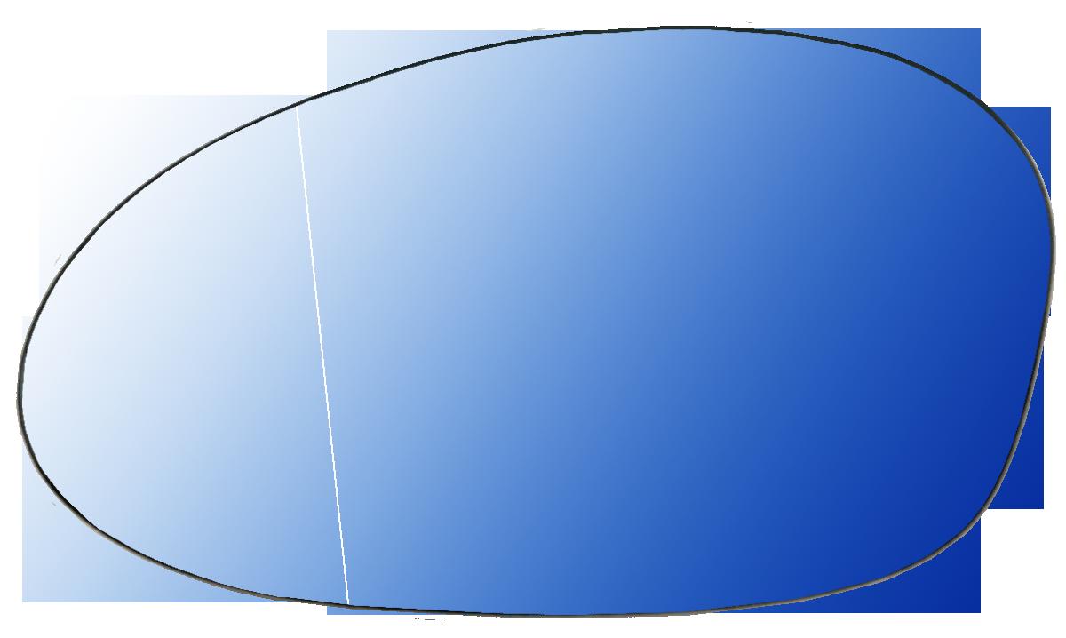 汽車精品 寶馬系列後照鏡替換鏡片盤組 藍鏡+除霧功能 BMW 1系列E81/E87/E82/E88 2003-2010 & 3系列E90/E91/E92/E93 2005-2008