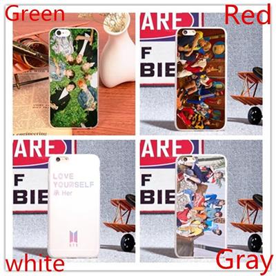Bts Phone Signature Case Back Cover Simple Style for iPhone Case For iPhone 5 5S SE 6 6S 6 Plus 6S P