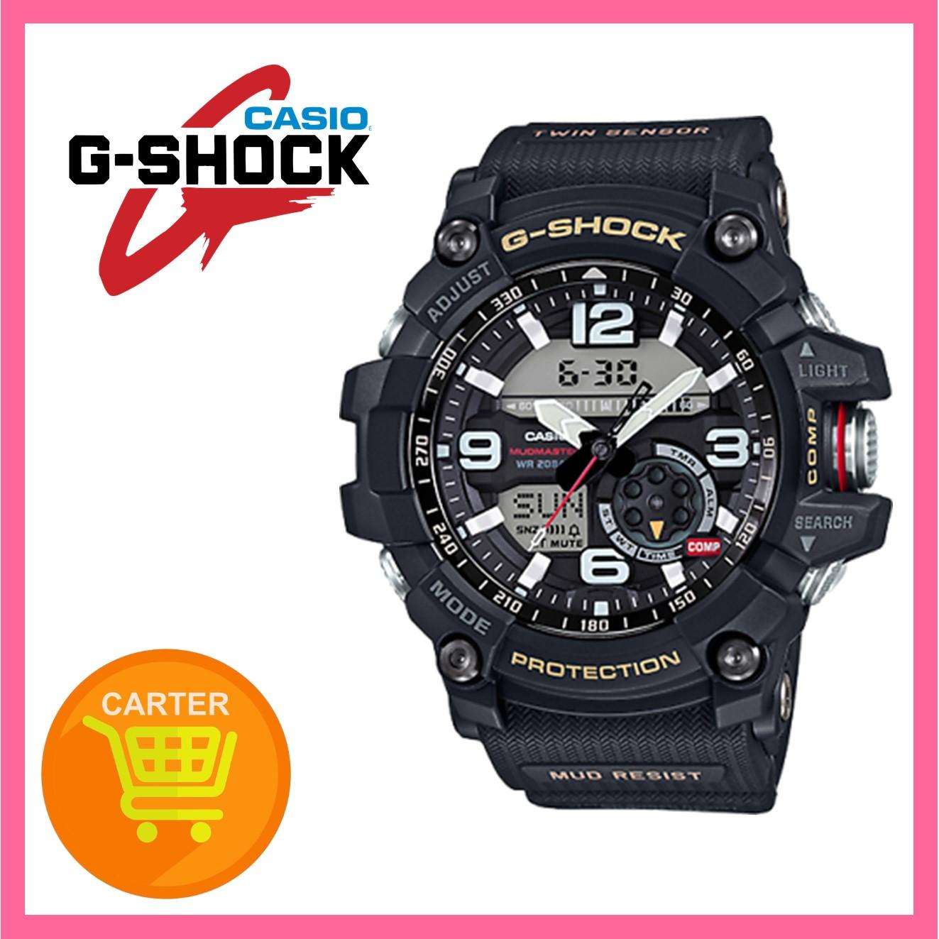 Casio G-Shock Master of G Mudmaster Series Black Resin Strap Watch GG1000-1A