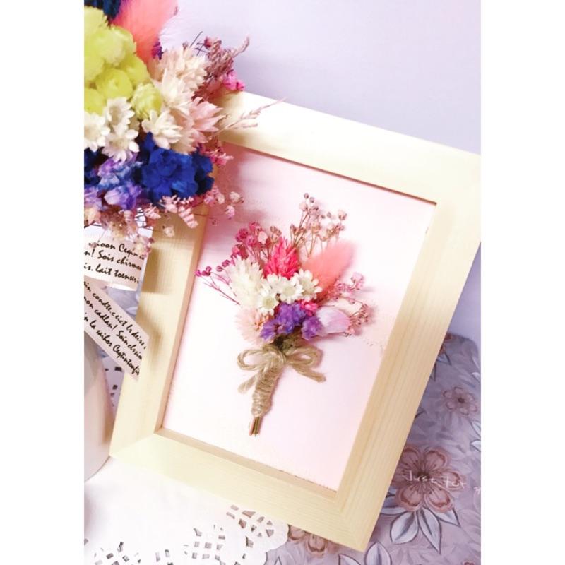 🌸乾燥花造型相框💕