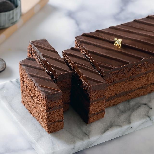 【艾波索】巧克力黑金磚18cm(熱銷百萬經典商品)