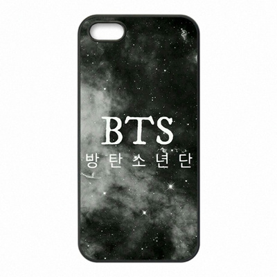 Kpop BTS Team Logo Phone Covers Shells Hard Plastic Cases For Apple iPhone 4/4S/5/5S/5C/6/6 Plus/6S/