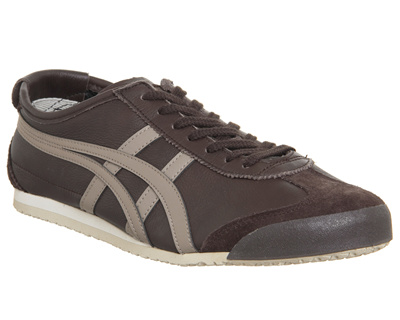 Onitsuka Tiger Mexico 66 Trainers Coffee Taupe