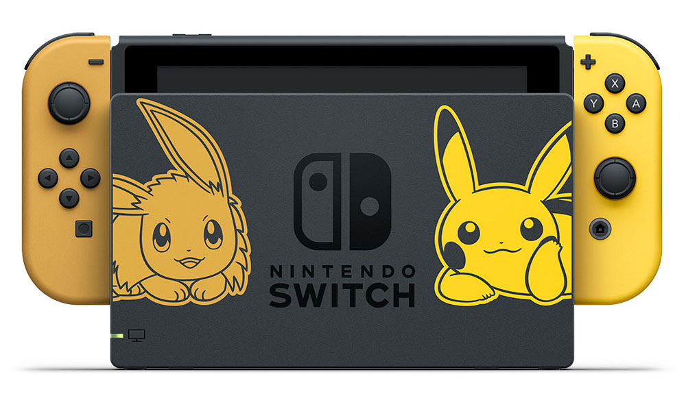 【Nintendo 任天堂】Switch 精靈寶可夢 Lets Go!同捆組