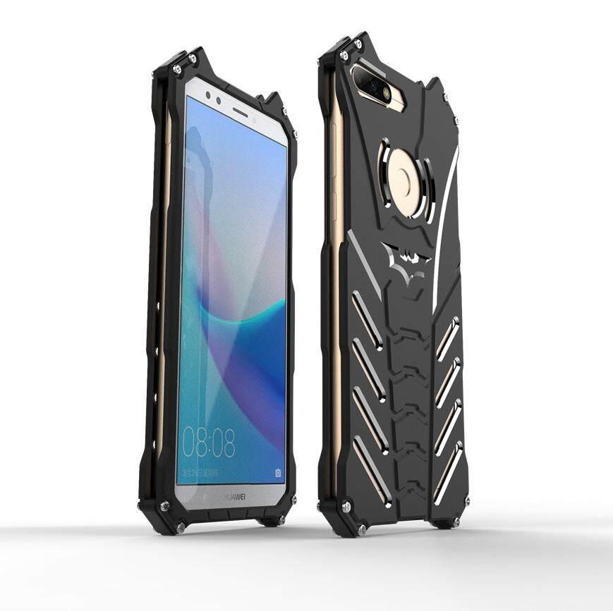 Metal Shockproof Protection Back Cover Case For Huawei Nova 2 Lite