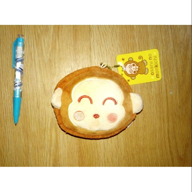 馬卡龍淘氣猴 娃娃吊飾