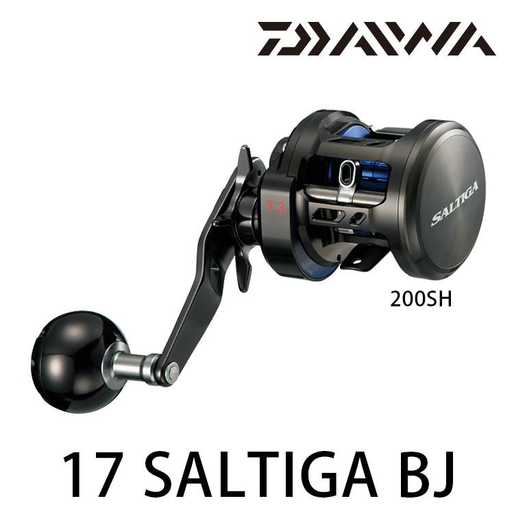 漁拓釣具 DAIWA  SALTIGA BJ 系列 鼓式捲線器 (適合船釣鐵板)