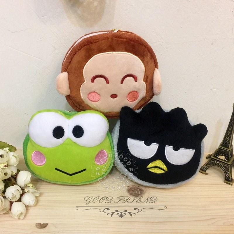 布偶的窩~正版授權 三麗鷗 馬卡龍 造型 酷企鵝 大眼蛙 淘氣猴 基本款 娃娃 玩偶