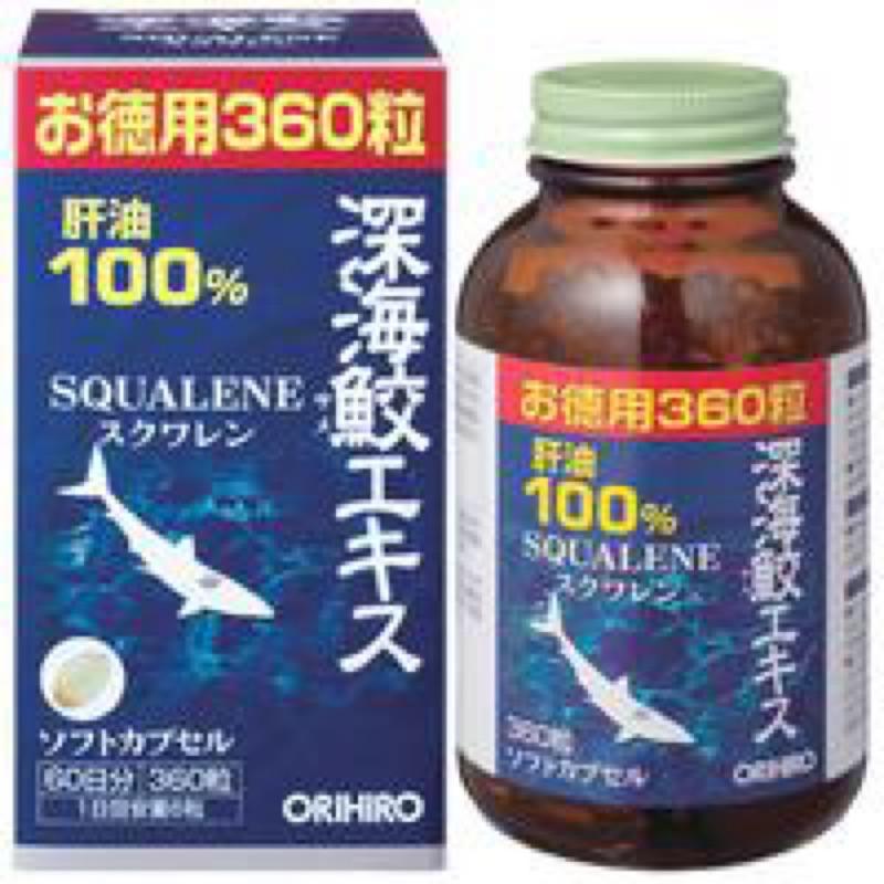 預購⭕️魚油⭕️東方海鮫深海鮫精華素膠囊
